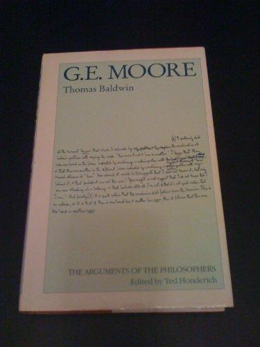9780415009041: G.E. Moore