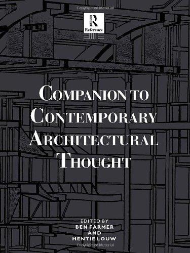 9780415010221: Companion to Contemporary Architectural Thought (Routledge Companion Encyclopedias)