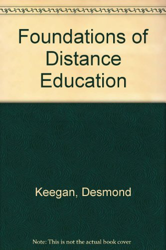 9780415010528: Foundations of Distance Education