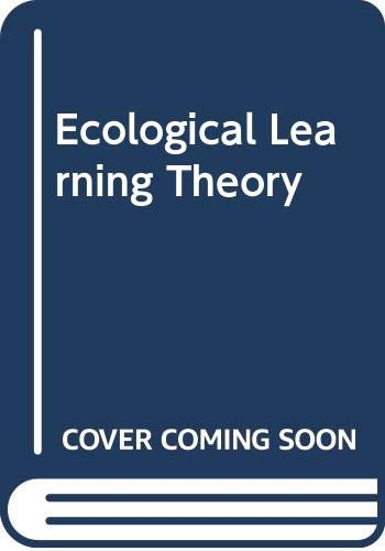 9780415011907: Ecological Learning Theory