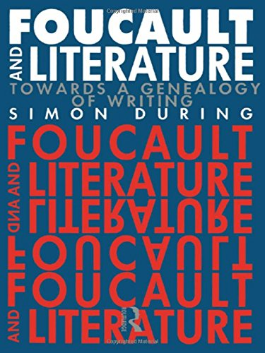 9780415012416: Foucault and Literature: Towards a Genealogy of Writing
