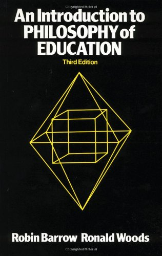 9780415012850: An Introduction to Philosophy of Education