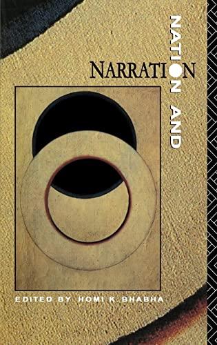 9780415014823: Nation & Narration