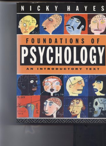 9780415015615: Foundations of Psychology: An Introductory Text