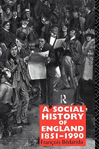 9780415016148: A Social History of England 1851-1990