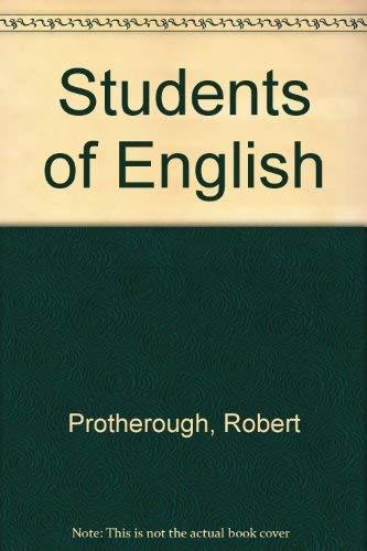 Students of English: Protherough, Robert
