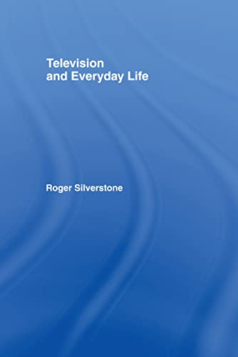 9780415016469: Television And Everyday Life