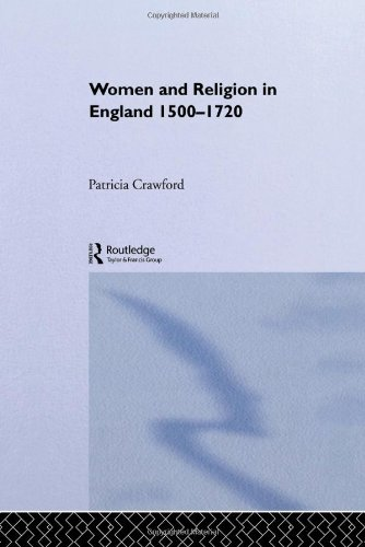 9780415016964: Women and Religion in England: 1500-1720 (Christianity and Society in the Modern World)