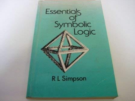 9780415018715: Essentials Symbolic Logic Pb