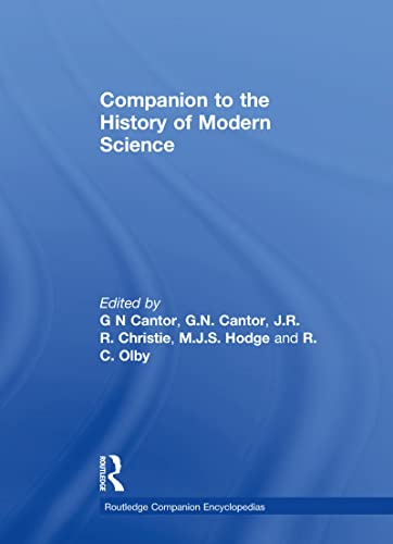 9780415019880: Companion to the History of Modern Science (Routledge Companion Encyclopedias)