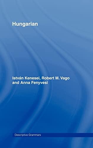 9780415021395: Hungarian (Descriptive Grammars)