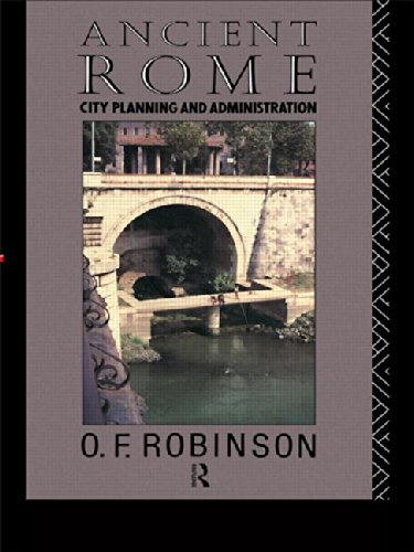 9780415022347: Ancient Rome: City Planning and Administration
