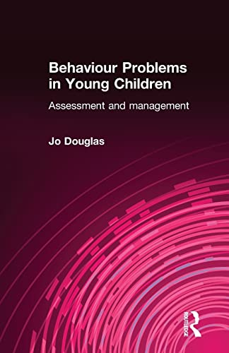9780415022484: Behaviour Problems in Young Children: Assessment and Management