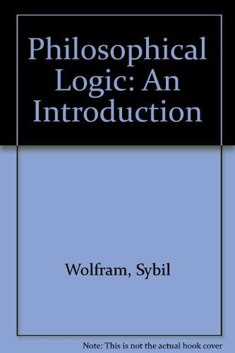 9780415023177: Philosophical Logic: An Introduction