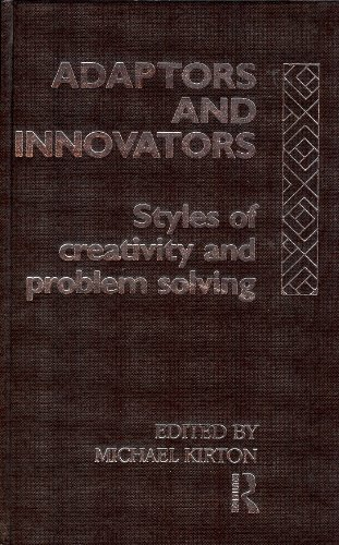 9780415024242: Adaptors and Innovators: Styles of Creativity and Problem-Solving