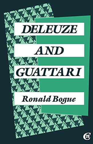 9780415024433: Deleuze and Guattari (Critics of the Twentieth Century)