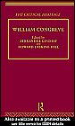 William Congreve: The Critical Heritage (The Critical: Lindsay, Alexander, Erksine-Hill,