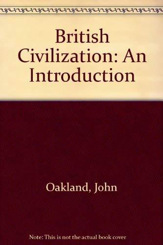 9780415025928: British Civilization: An Introduction
