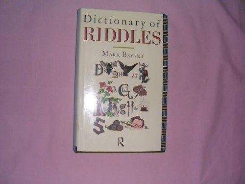9780415026765: Dictionary of Riddles