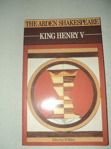 """King Henry V"""" (Arden Shakespeare): William Shakespeare, J.H."""