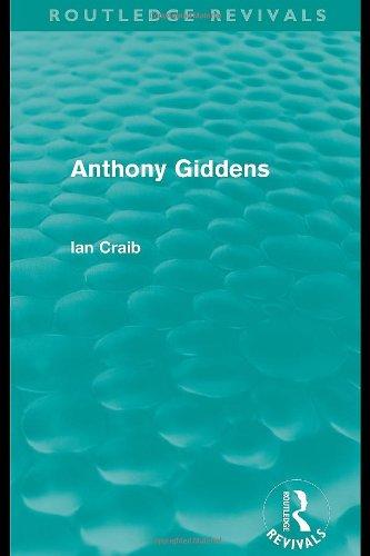 9780415028141: Anthony Giddens
