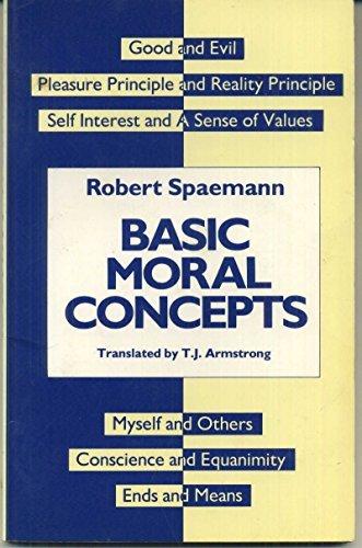 9780415029667: Basic Moral Concepts