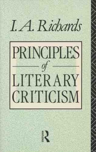 9780415029995: Principles of Literary Criticism (Routledge Classics) (Volume 90)