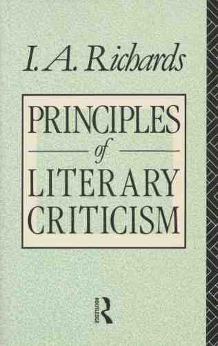 9780415029995: Principles of Literary Criticism (Routledge Classics) (Volume 90)