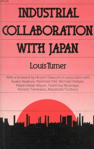 9780415030205: INDUSTRIAL COLLABORATION WITH JAPAN (A CHATHAM HOUSE PAPER)