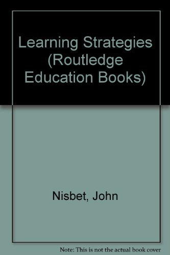 9780415031110: Learning Strategies (Routledge Education Books)