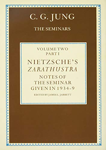 9780415031318: Nietzsche's Zarathustra: Notes of the Seminar given in 1934-1939 by C.G.Jung (Volume 1)
