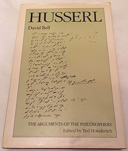 9780415033008: Husserl (Arguments of the Philosophers)