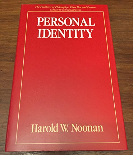 9780415033657: Personal Identity (Problems of Philosophy : Their Past and Present)