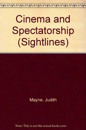 9780415034159: Cinema and Spectatorship (Sightlines)
