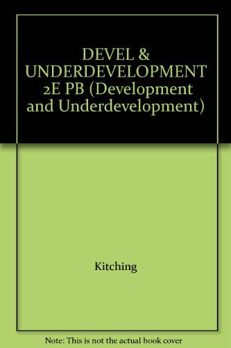 9780415034494: DEVEL & UNDERDEVELOPMENT 2E PB (Development and Underdevelopment)