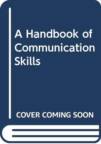 9780415034579: A Handbook of Communication Skills
