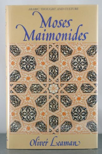 9780415034814: Moses Maimonides (Arabic thought and culture)