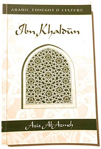 9780415035989: Ibn Khaldun (Arabic Thought and Culture)