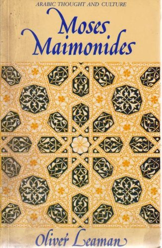 9780415036085: Moses Maimonides (Arabic Thought and Culture Series)