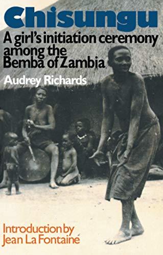 9780415036955: Chisungu: A Girl's Initiation Ceremony Among the Bemba of Zambia