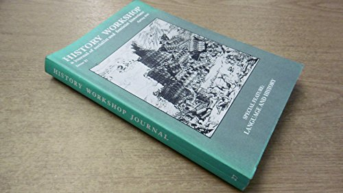 History Workshop: a journal of socialist and