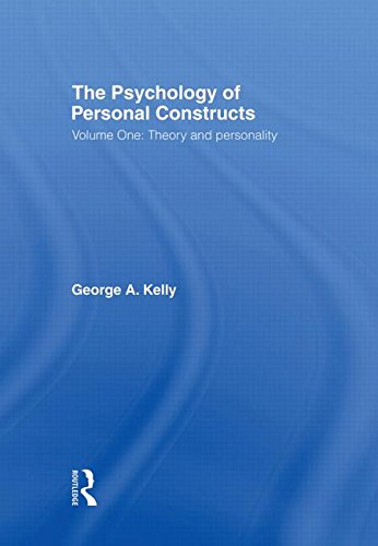 9780415037976: The Psychology of Personal Constructs: Volume One: Theory and Personality: Theory and Personality Vol 1