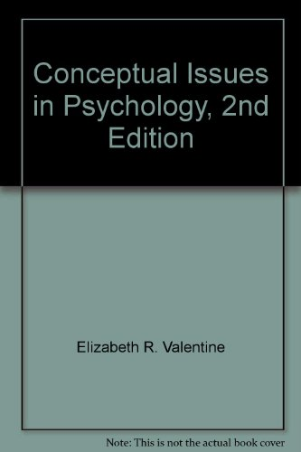 9780415039246: Conceptual Issues In Psychol