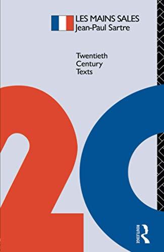 9780415039352: Les Mains Sales (Twentieth Century Texts)