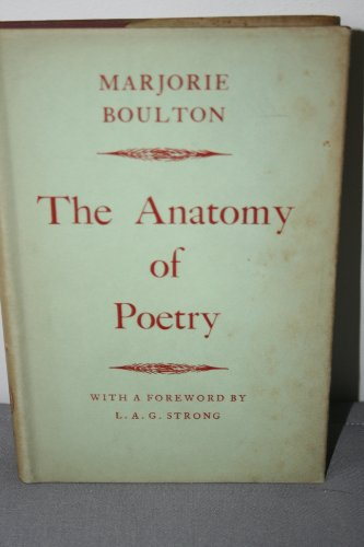 9780415039482: The Anatomy of Poetry
