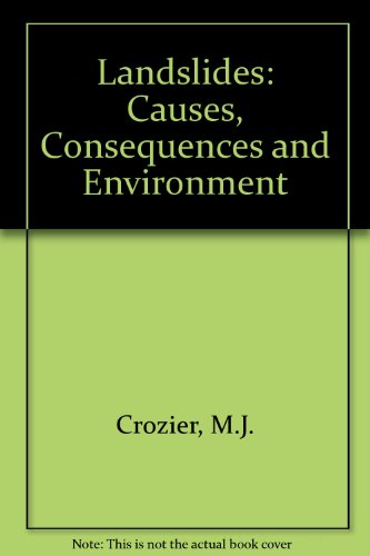 9780415039673: Landslides: Causes, Consequences and Environment