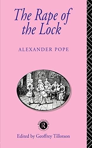 9780415039994: The Rape of the Lock