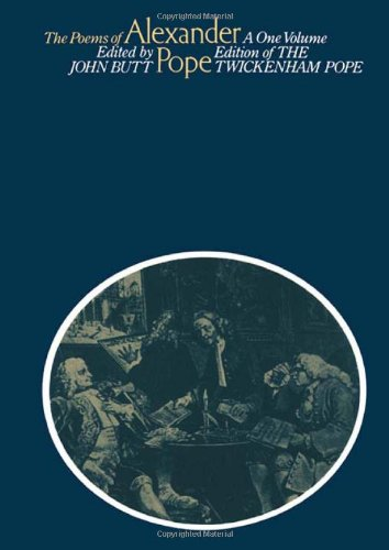 9780415040006: The Poems of Alexander Pope