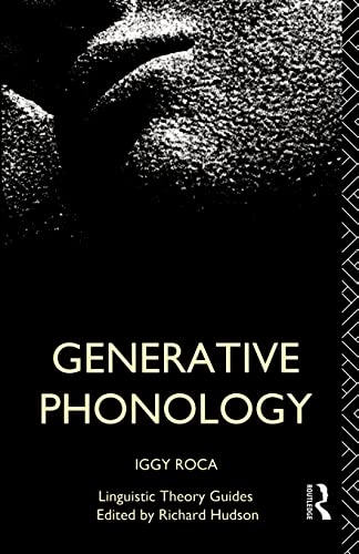 9780415041416: Generative Phonology (Linguistic Theory Guides)