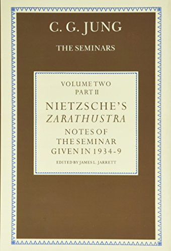 9780415041911: Nietzsche's Zarathustra: Notes of the Seminar given in 1934-1939 by C.G. Jung (Volume 2)